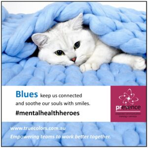 True Colors Blues Mental Health Heroes