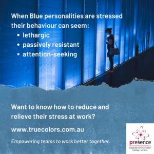 Blue stressors True Colors