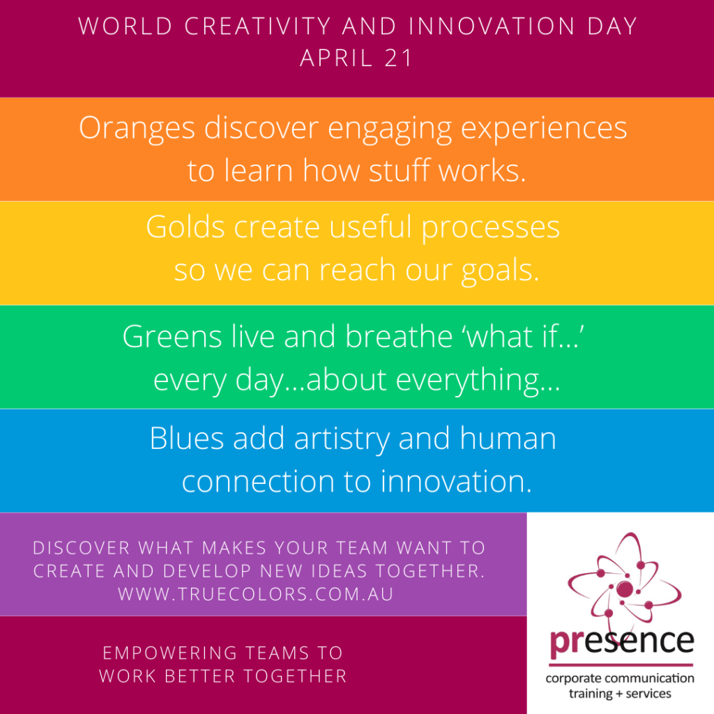 Create and innovate with True Colors