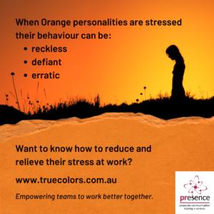 Orange stressors True Colors