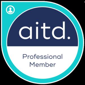 Professional member of AITD