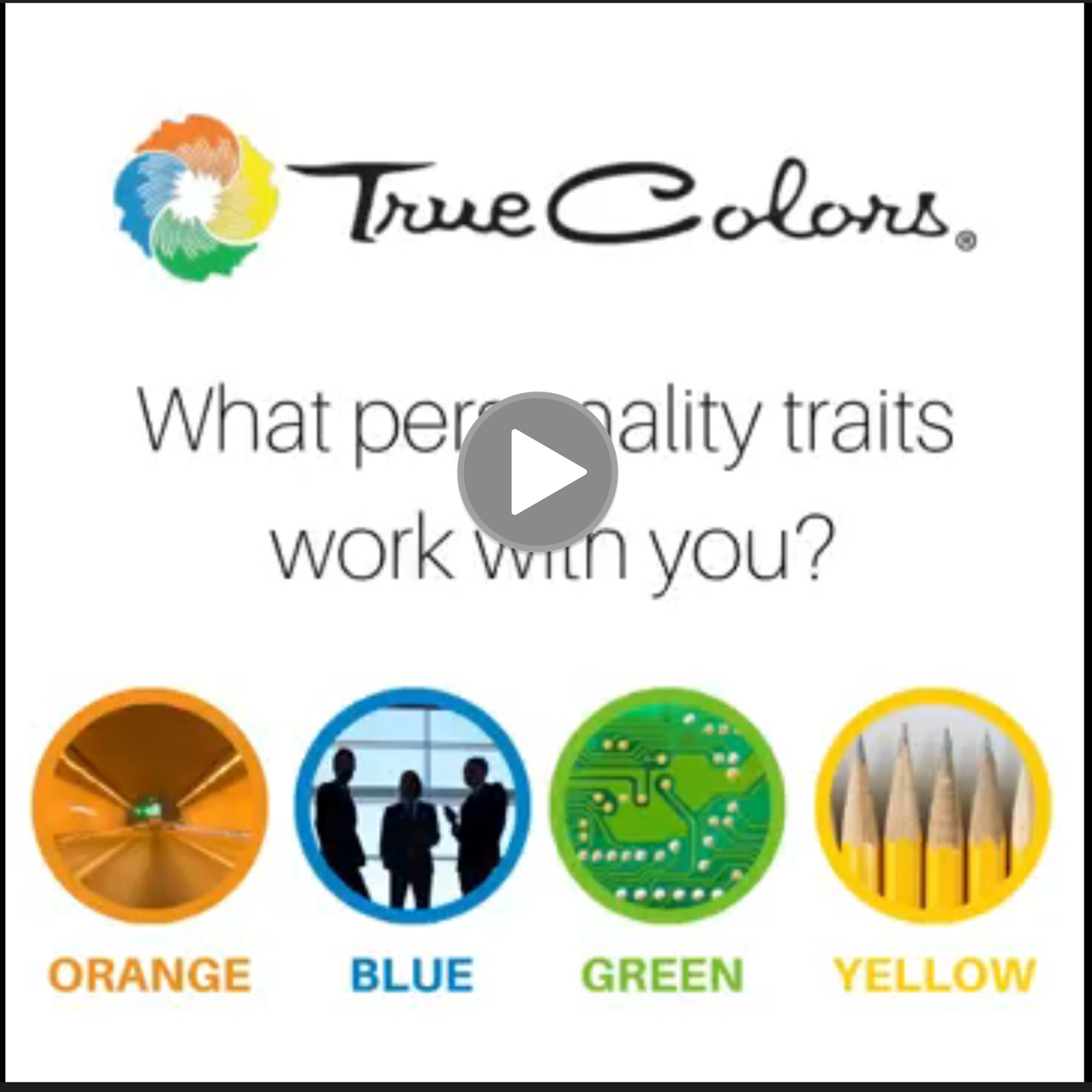 True Colors personality profiling with Presence Communications
